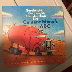 Goodnight Construction Site Cement Mixer's ABC
